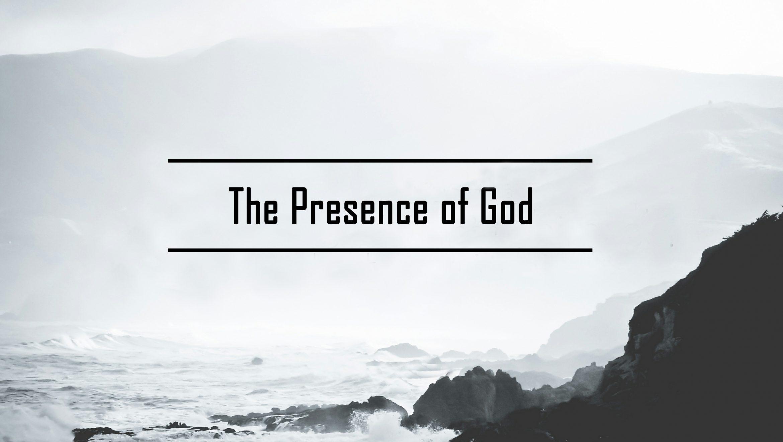 The presence of God part 1 <br/> Vinod Samuel
