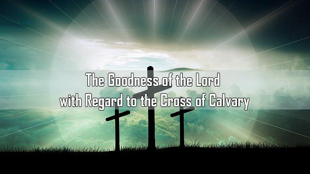 The glorious work on the cross of calvary<br/> Nicholas pereira