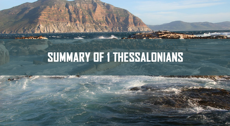 Summary of 1 Thessalonians <br/> Sunil Abraham