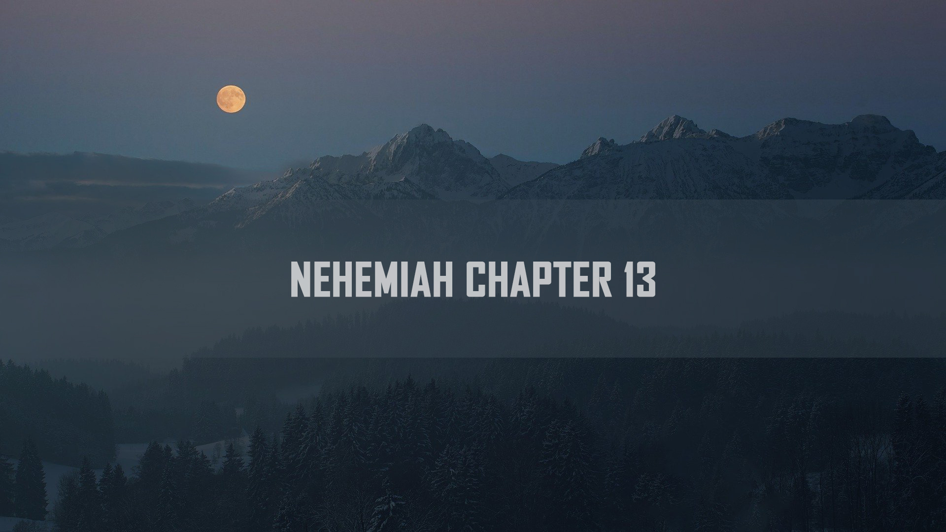 Nehemiah Chapter <br/> Sujith M John