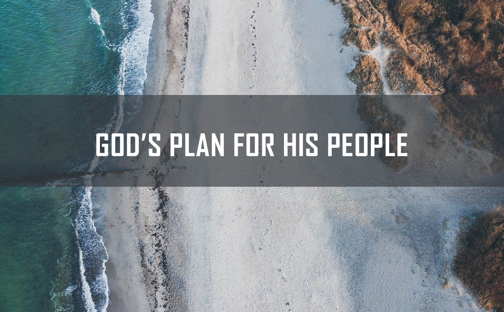 God's Plan for his People <br/> Jacob K Mathai