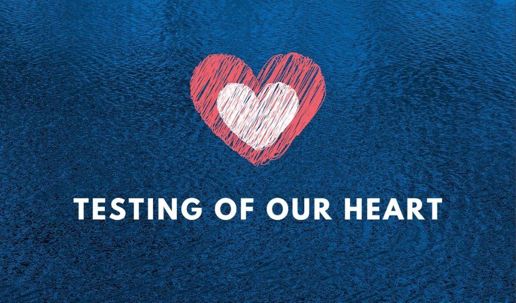 Testing of our Heart <br/> Vinod Samuel