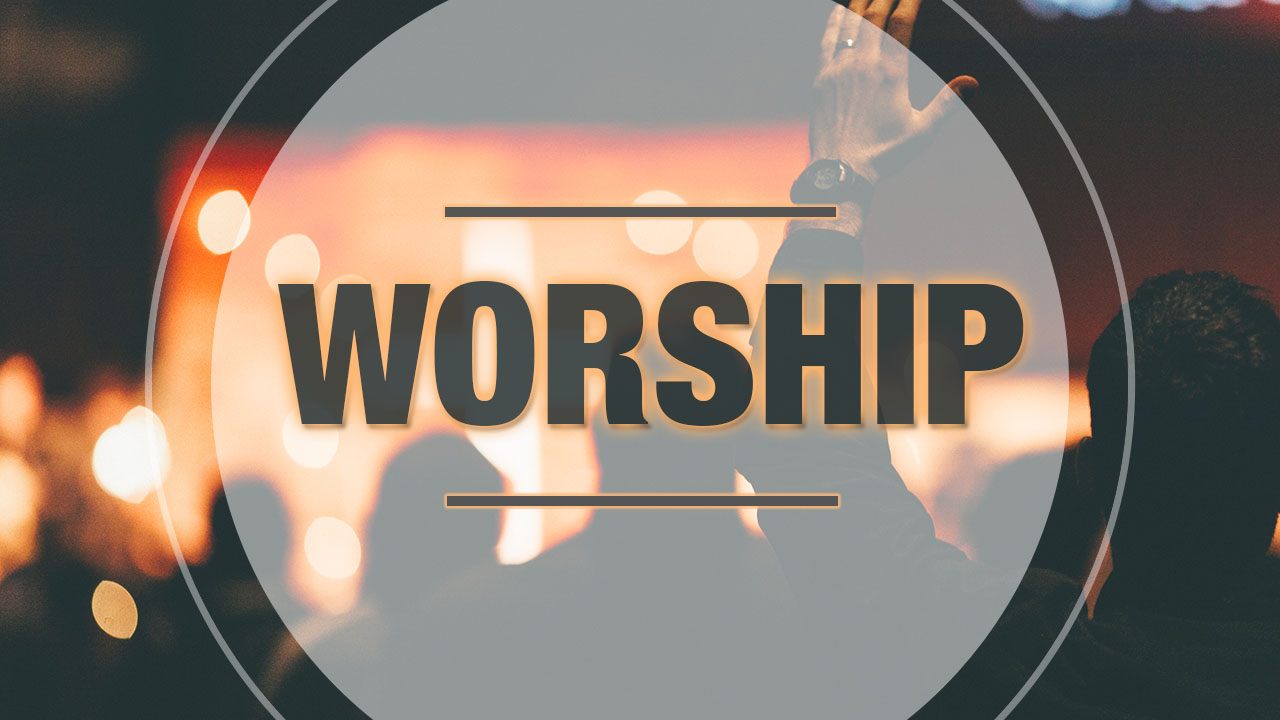 I worship you – why say it?