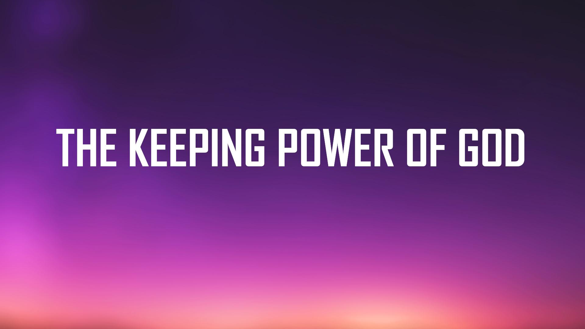 Joy of the redeemed part 15 Keeping Power of God<br/>Mathai John