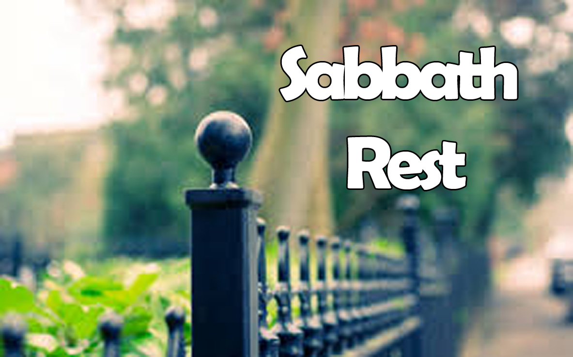 Sabbath Rest<br/>Sujith John