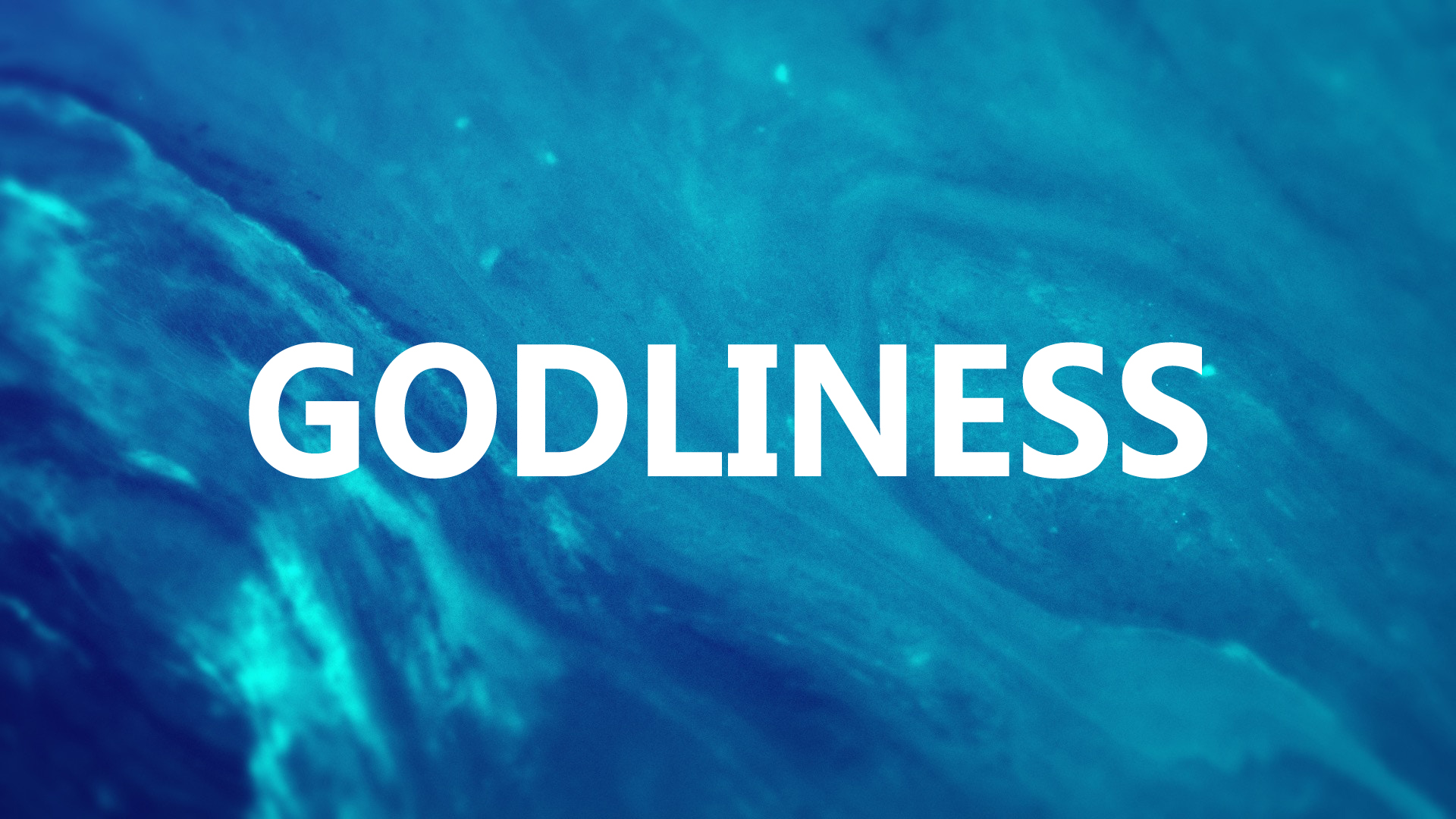Godliness-The Desire and the Desicion<br/>Vinod Samuel
