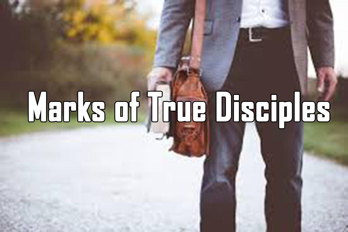 Marks of true disciples<br/> Sunil Abraham