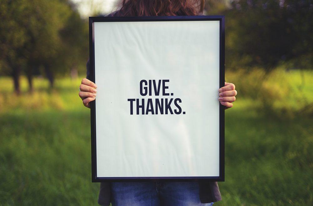 Give Thanks! <br/> Sunil Abraham