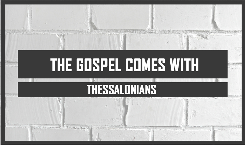 The Gospel Comes With Thessalonians <br/> Jacob K Mathai