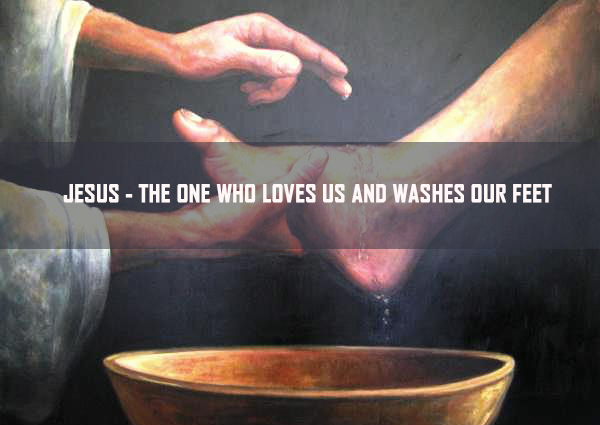 Jesus – The One who loves us and washes our feet <br/> Sunil Abraham