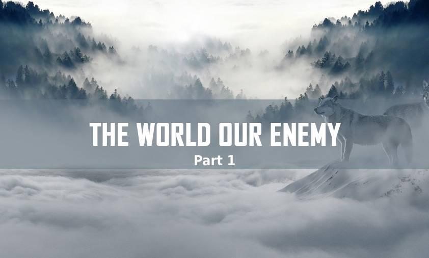 THE WOLRD OUR ENEMY PART 1 </BR> VINOD SAMUEL