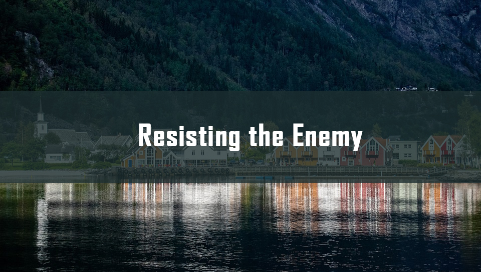 Resisting the Enemy <br/>Sujith M John