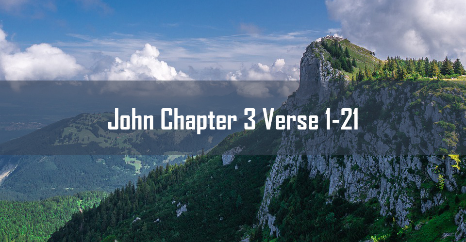 John chapter 3 verse 1 to 21<br> Suresh Abraham</br>