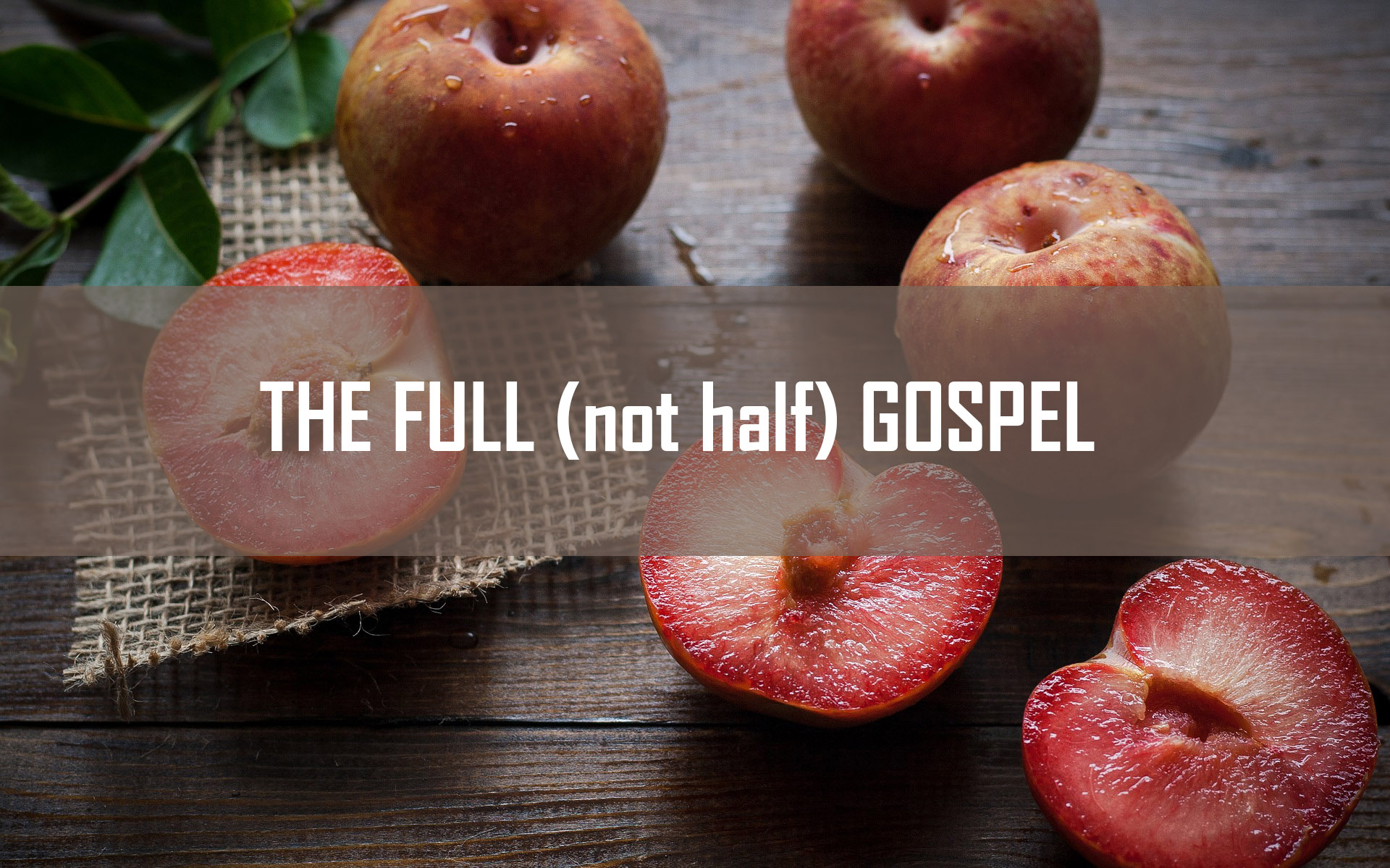The Full (not half) Gospel <br/> Sunil Abraham