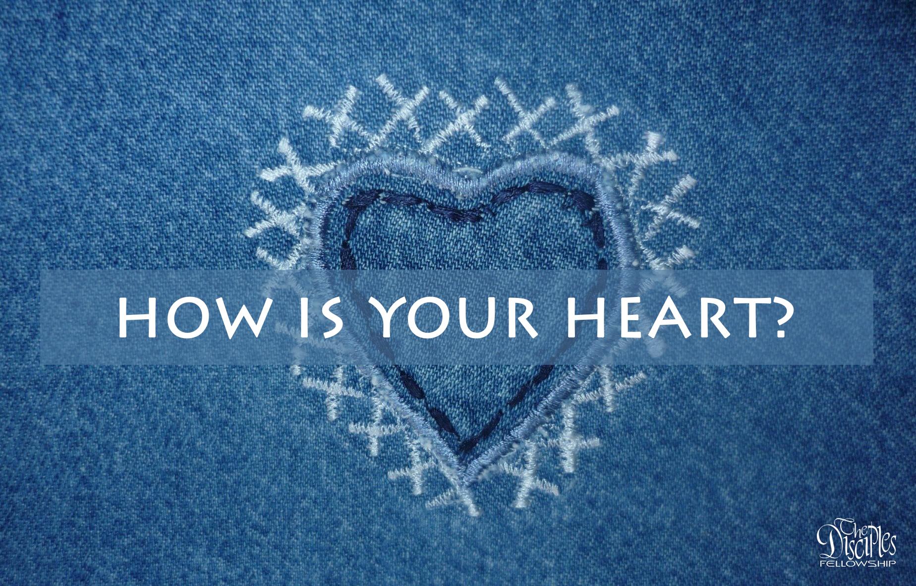 How is your heart? <br/> Vinod Samuel
