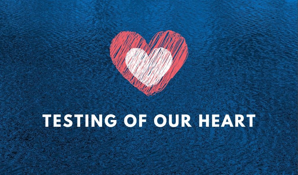 Testing of our Heart <br/> Vinod Samuel