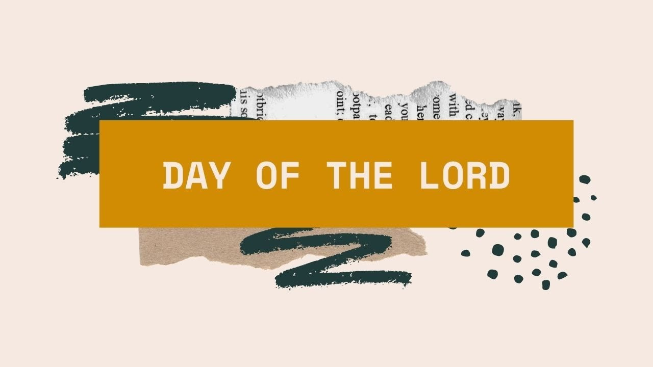 The Day of The Lord <br/>  Vinod Samuel