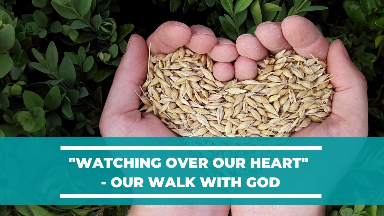 """Watching over our Heart"" – Our Walk with God <br/><br/> Jacob K Mathai"