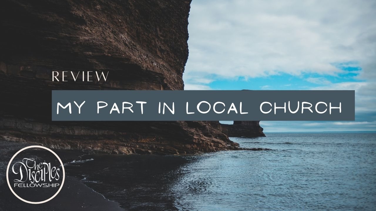 Review : My part in the Local Church <br/> Jacob K Mathai