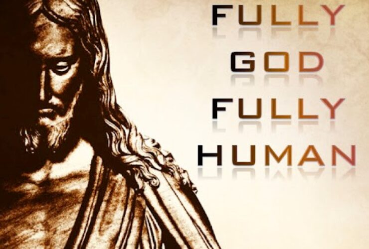 The humility of Jesus!